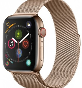 apple watch series 4 gold